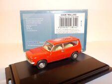 Austin Allegro Estate -  Flamenco Red  1:76 Oxford Diecast Model Car British