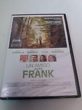 """DVD """"UN AMIGO PARA FRANK"""" PRECINTADO SEALED JAKE SCHREIDER FRANK LANGELLA"""