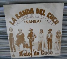 "RELOJ DE CUCO LA BANDA DEL CUCO SPANISH 7"" SINGLE PS ROCK EN ESPAÑOL MOVIDA"