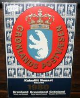 FRANCOBOLLI GROENLANDIA 1980 ANNATA COMPLETA YEARBOOK NUOVI MNH** (0 39)