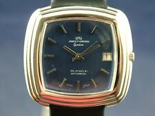 Jaquet Girard Swiss Automatic Watch Vintage 1970s 25 Jewel ETA 2783 New old NOS