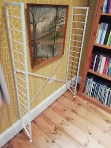 130cm x 20cm Mid Century Vintage LADDERAX Shelving Supports - 2 Pairs Available