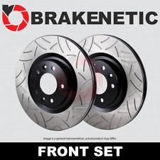 [FRONT SET] BRAKENETIC PREMIUM GT SLOTTED Brake Disc Rotors BNP07006.GT