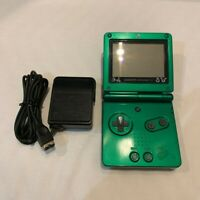 Pokemon Rayquaza LIMITED GAMEBOY ADVANCE SP GBA SP Console,Charger,Japan