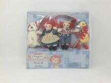 Raggedy Ann Andy Musical Mobile Nursery Decor Classic Brahms Lullaby