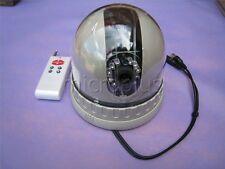 Tilt Rotation CCTV Camera Infrared Dome Pan CCD Color Remote Control 900TVL