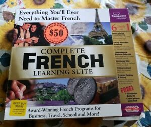 Transparent Language Complete Learning Suite French for PC, Mac