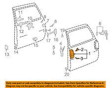 TOYOTA OEM 96-00 RAV4 Back Door-Handle Outside Exterior 6909042010