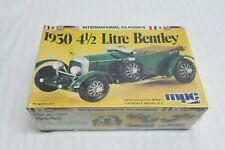 Brand New Sealed Vintage MPC 1930 Bentley 4 1/2 Liter Race Car 4.5 Racing Model