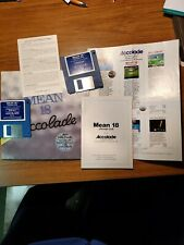 Accolade Mean 18 ultimate Golf Atari ST Color Computer Game -