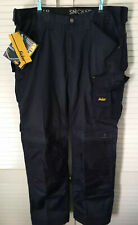 "Snickers Duratwill Navy Blue Craftsmen Work Trousers Size 58 41""W/32""L New Tags"