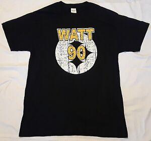 Pittsburgh Steelers TJ Watt distressed T shirt