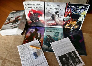 LAMENTATIONS of the FLAME PRINCESS RPG Deluxe Box Set 2010 (1st ed.,1st print)