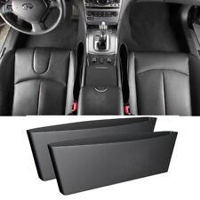 2x tasca tasche laterali sedili Catch Caddy auto automobile porta oggetti NERE