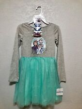 Frozen 2 Girls Dress Size 7 With Hair Accessories Included