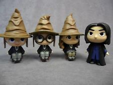 Funko Mystery Minis * Harry Potter Ron Hermione Snape Lot * Hat Movie Figure Toy
