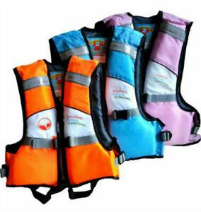 Children Kids paddle board Life Jacket Watersport UK Vest Safety Swimsuit