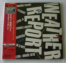 WEATHER REPORT - Domino Theory REMASTERED JAPAN MINI LP CD NEU RAR! SICP-1253