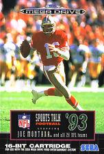 # SEGA MEGA DRIVE-Sports talk FOOTBALL 93, Joe Montana's/MD gioco #