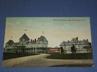 VINTAGE  1913 HOTEL CHAMPLAIN NEAR PLATTSBURG  NEW YORK   POSTCARD
