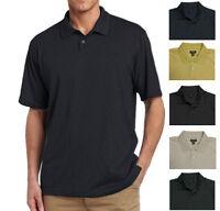 New Van Heusen Men's Jacquard Polo Shirt Small Diamond Pattern MSRP $45