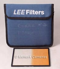 Lee Filters Coral 7 Graduated Hard, 5x6 inch Format & Pouch. Others Listed