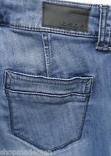 bebe JEANS womens sz 25 Inseam: 28'' Denim Blue Carpenter Pockets ^1809