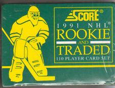 Score 1991-92 NHL Hockey Collector Rookie & Traded Sealed Set NIB