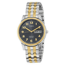 T26481 Timex Men's Classic Two-Tone Expansion Band Stai