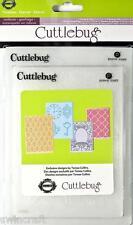 CUTTLEBUG embossing folders set of 4 - TIMELESS - 2001218 REDUCED