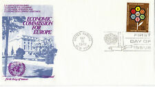 UNITED NATIONS 1972 ECONOMIC COMMISSION FOR EUROPE FIRST DAY COVER