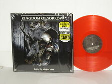 KINGDOM OF SORROW Behind The Blackest Tears LP Red Vinyl Hatebreed Crowbar Down