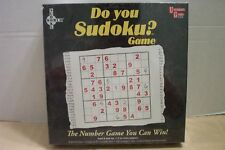 Do You Sudoku? Game University Games #01512 NIB 2005!