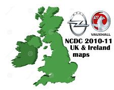 VAUXHALL NCDC NCDR 1100 1500 2013 2011 2015 NAVIGATION DISC SAT NAV MAP 2011