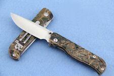 High quality! Enlan Small pocket Folding Knife Camo- 9.6 cm/ 3.78'' closed