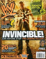 RANDY ORTON WWE Wrestling Magazine July 2009 w/KELLY KELLY Poster