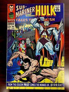 Tales To Astonish 90 Abomination Hulk Sub-Mariner glossy high grade
