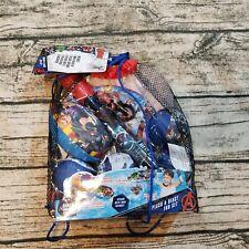 Marvel Avengers Splash & Blast Fun 7-piece Set with Bonus Backpack - Brand New