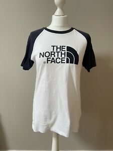 The North Face White Tshirt, Unisex, Tee Shirt, Small