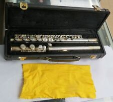 Flute with case marked JL