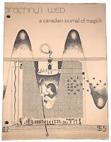 ARACHNY'S WEB, CANADIAN JOURNAL OF MAGICK, ALEISTER CROWLEY, THELEMA, OCCULT
