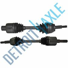 2 NEW Front Left & Right CV Axle Shafts Explorer Mountaineer Aviator - 4 Door