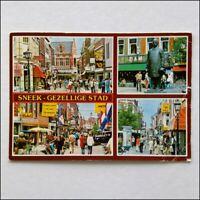 Sneek City Holland 1982 Postcard (P398)