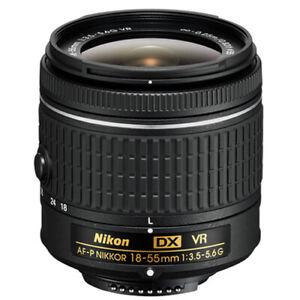 Nikon AF-P DX Nikkor 18-55mm f3.5-5.6G VR Lens