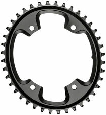 absoluteBLACK Oval 110 BCD CX Chainring 42t 4-Bolt Narrow-Wide Black