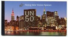 19413) UNITED NATIONS (Vienna) 1995 MNH**  50 years of UNO booklet