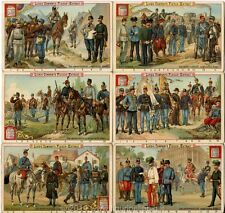 Chromo Liebig Sang. 302 TED Esercito Austro Ungarico ANNO 1891