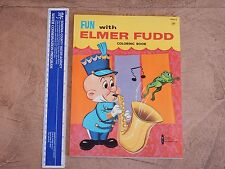 1964 Warner Bros. Fun With Elmer Fudd Coloring Book High Grade Unused