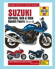 MAN3367 Manual de taller Haynes Suzuki GSF GSF600 GSF650 & GSF1200 bandido 1995-06