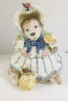 Vtg Fitz and Floyd Mama Honey Bear Cookie Jar 1991 Mint Condition